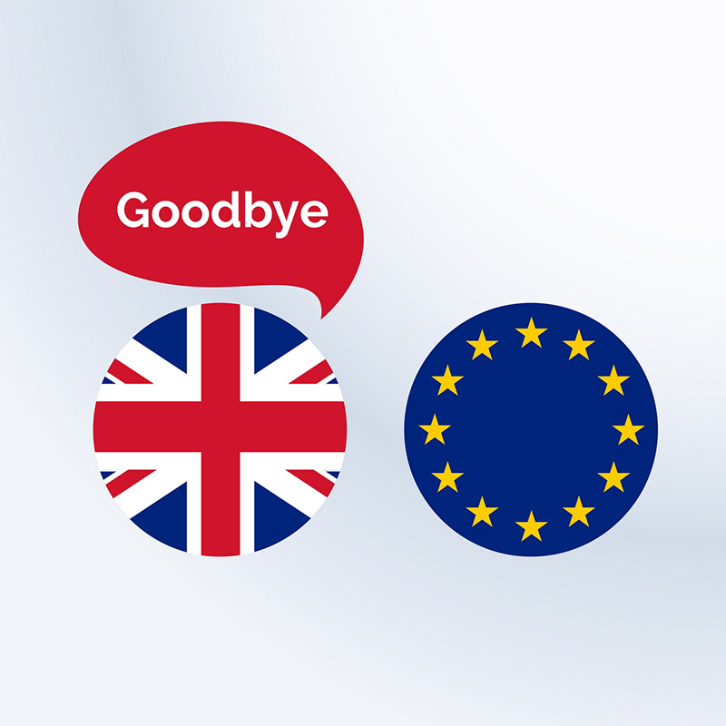 Britain saying goodbye to EU - data protection