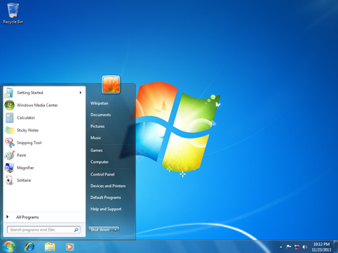 Windows 7 ESU - Windows 7 screenshot.