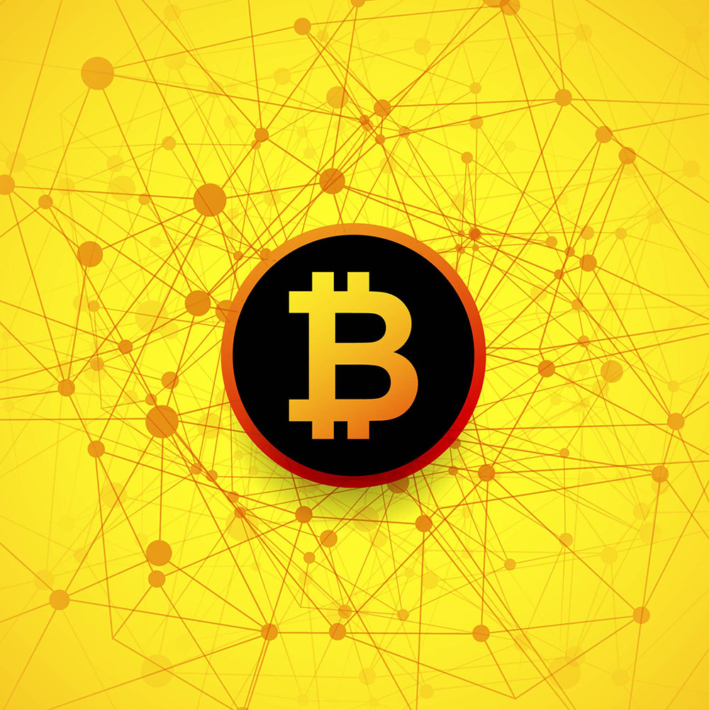 Bitcoin symbol - tech for small businesses