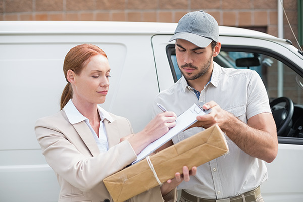 Delivery guy - Internet of Things