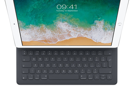 iPad Pro with keyboard - using a tablet for business