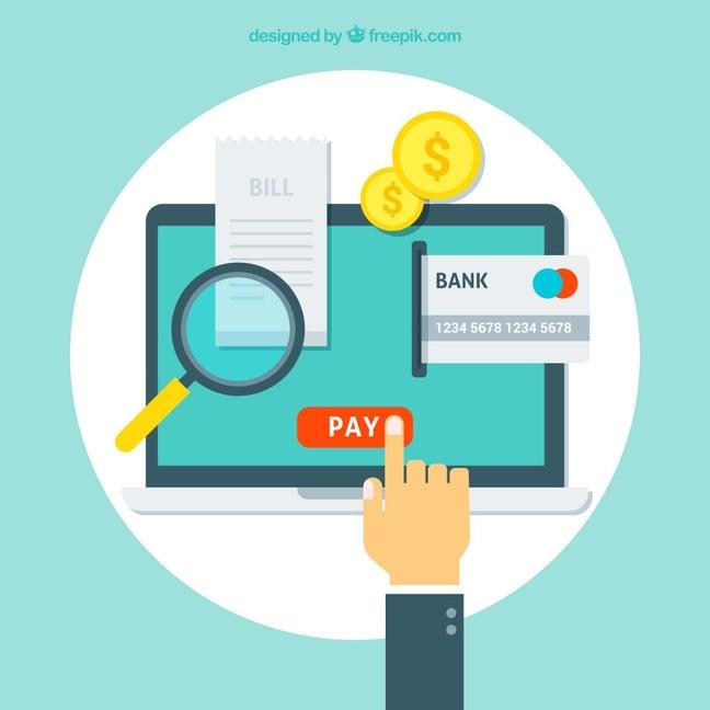 Online banking - data theft