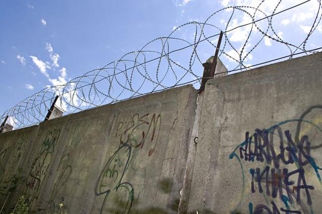 Prison walls - cyber criminals