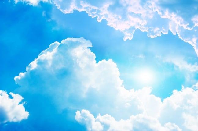 Photo of the sky - cloud computing