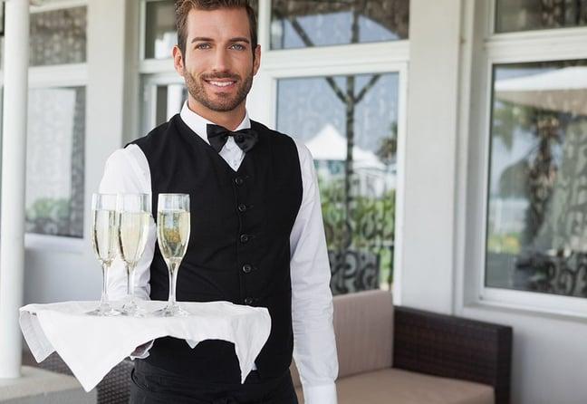 Hotel waiter - hotel wi-fi