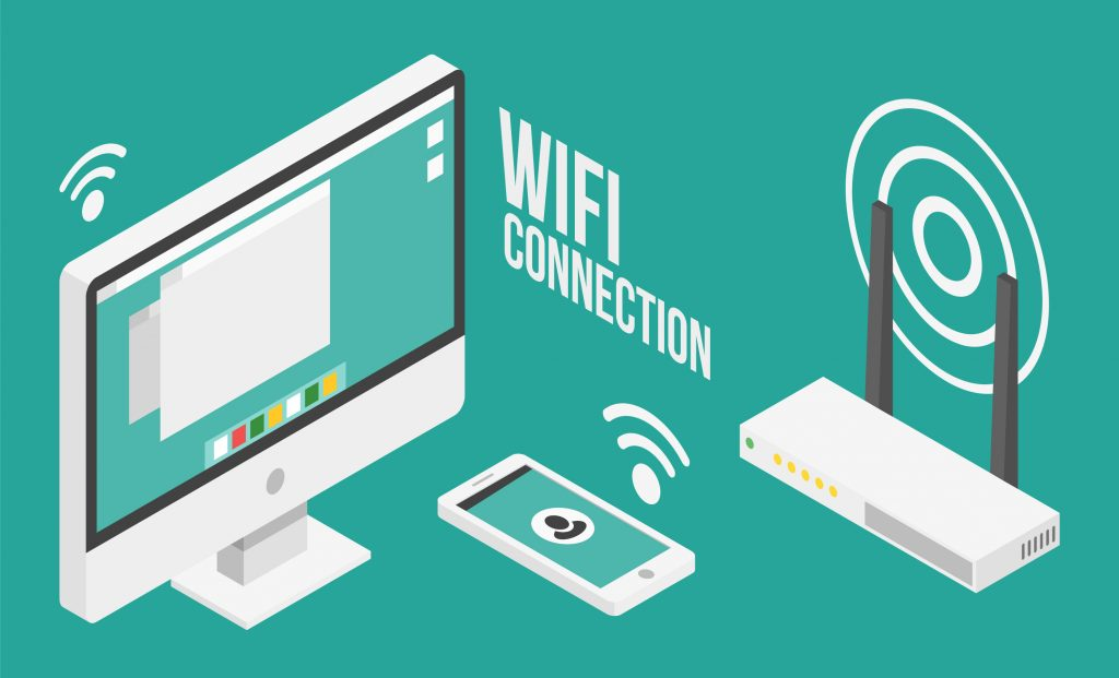 WiFi connected devices - customer wifi