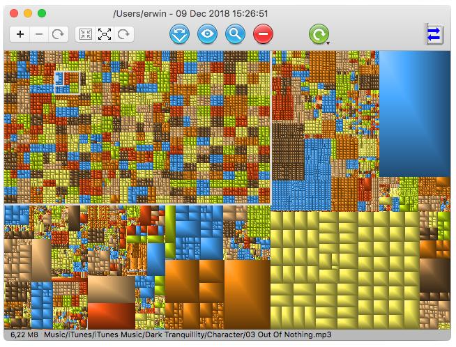 GrandPerspective screenshot