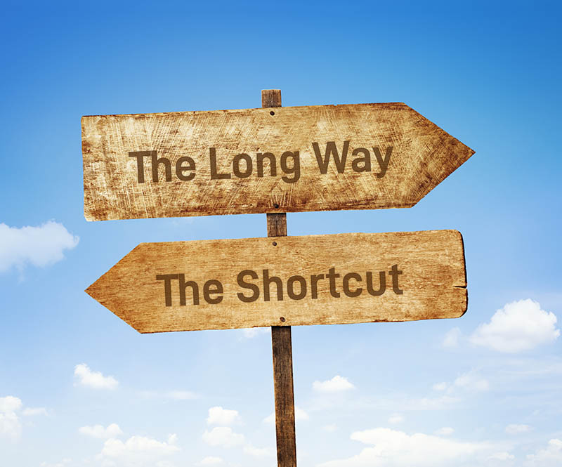 Signpost, saying shortcut - Window key shortcuts