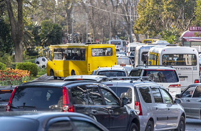 A bottleneck is like a traffic jam